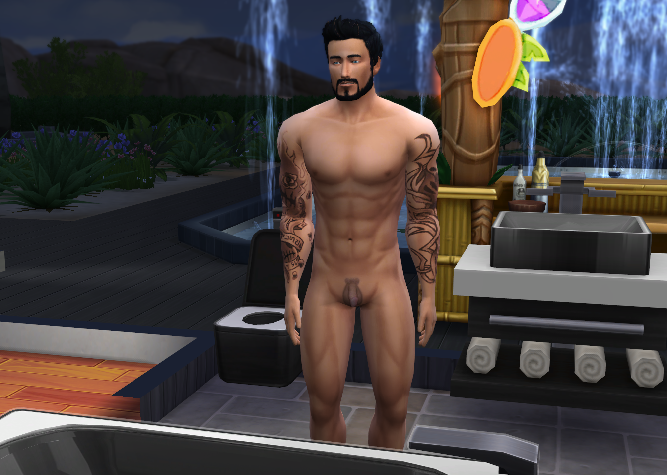 X men sims 3 XXX naked sex scene